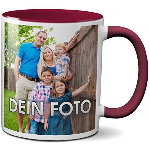 PAPAYANA - 1070 - Personalisierte-FOTOTASSE - Selbst Gestalten - Beidseitig Bedruckt - Tasse 325ml...