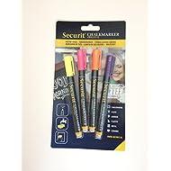 Gesso pennarelli X4Coloured Chalk penne–Qualità migliore penna disponibile