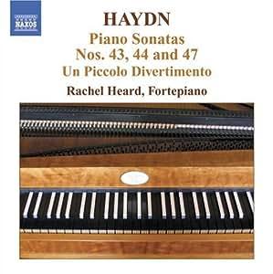 Klaviersonaten 43,44+47