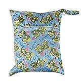 Bolsa de tela del panal - TOOGOO(R) bolsa de panales de pulsador de cremallera de tela...