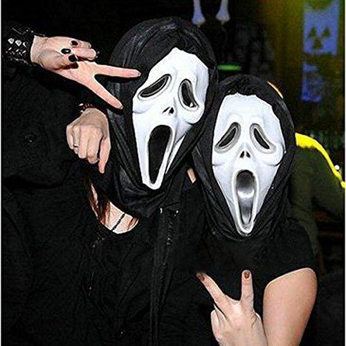 mark8shop Masquerade Party Maske Halloween Karneval Kunststoff Face Masken