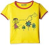 #9: Donuts Baby Girls T-Shirt (267622431_Yellow_12M)