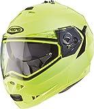 Caberg Duke Motorcycle Helmet L Hi-Viz