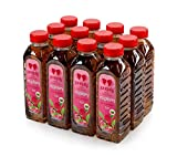 Black ice Tea and Raspberry Taste Beverage (Still) (The Pack of 12 x 500ml)