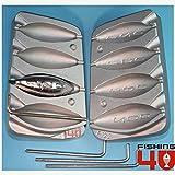 Torpedo playa Bomba in-liner pesca molde 120-150-180-200g plomos