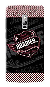 Roadies Hard Case Mobile Cover for OnePlus 2