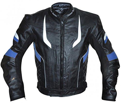 German Wear giacca da moto in pelle Chopper Cruis