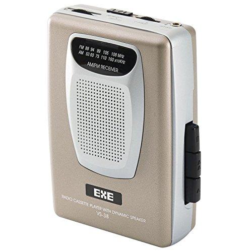 Valor Gama VS38GD portátil Retro Am/FM Radio Cassette Player con Altavoces