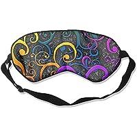 Comfortable Sleep Eyes Masks Abstract Printed Sleeping Mask For Travelling, Night Noon Nap, Mediation Or Yoga preisvergleich bei billige-tabletten.eu