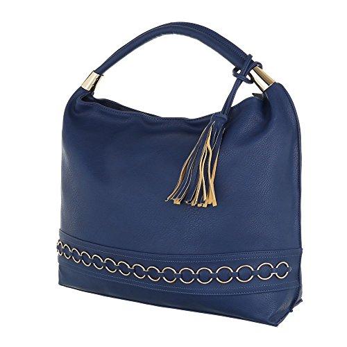 Damen Handtasche Tragetasche Shopper Shopper Beige Elfenbein Schwarz Blau Grau Rot Weiß Blau