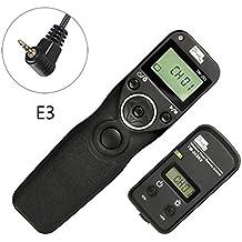 Pixel TW-283/E3 Disparador inalámbrico temporizador Mandos a distancia Para Canon cámaras digitales G10 G11 G15 G1X SX50 EOS 1300D 1200D 1100D 1000D 760D 700D 750D 650D 600D 550D 500D 450D 400D 350D 300D 100D 60D 70D 80D K5 K7 K10 K20 K100 K200 GX1L GX1S GX10 GX20 NX11 NX100 NX10 NX5
