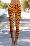 Om Shanti Power Pants Tiger Skin