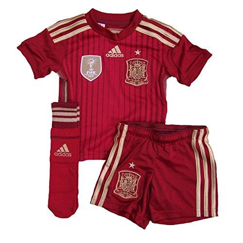Spanien Trikot Set Home 2014 Home Adidas Kindergröße 140