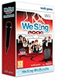 Cheapest We Sing Rock 1 Microphone Bundle on Nintendo Wii