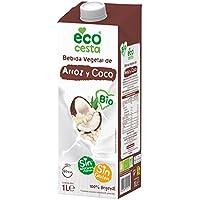 ECOCESTA bebida vegetal de arroz y coco bio envase 1 lt