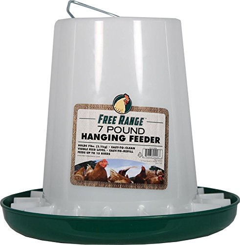 Harris Farms Llc Animaux 4226 7 Lb Plastic Hanging alimentation de volailles