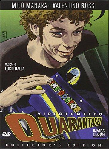 Quarantasei. DVD. Con libro por Milo Manara