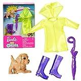 Mattel Set Regen-Kleidung | für Chelsea Barbie FXN71 | Mode Puppen-Kleider