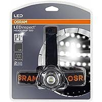 OSRAM LEDinspect HEADLAMP 300, lámpara con LED y funcionamiento a pilas para inspecciones y trabajos