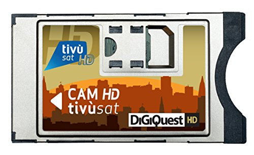 Digiquest bundle cam card tivu-sat smarcam tiv -sat smart card