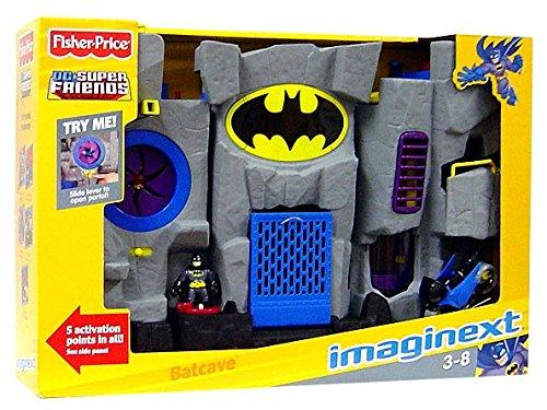 Fisher-Price Imaginext DC Super Friends Batman Batcave