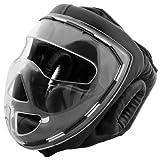 Bad Company I Full Face Kopfschutz I Helm mit transparentem Visier I Gr. S