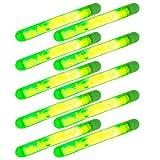 Beautyrain 10 pezzi Notte utile bagliore scuro bagliore fluorescente Galleggiante da pesca Light Lightskk 30 milioni di vista