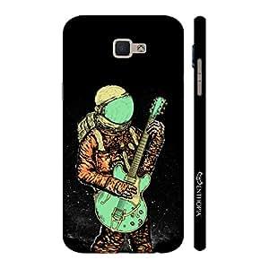Enthopia Designer Hardshell Case Astronaut Guitar Back Cover for Samsung Galaxy J7 Prime SM-G610F