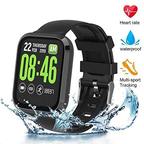 MTJJ Fitness Watch Activity Tracker Smartwatch con Cardiofrequenzimetro Contapassi Calorie Sportivo Monitor del Sonno IP67 Impermeabile Orologio per