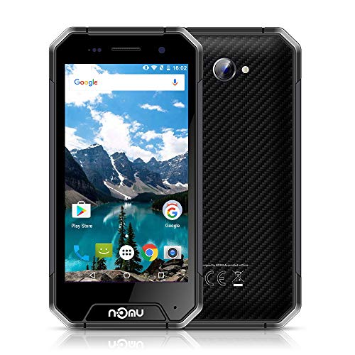 NOMU S10 IP68 4G Smartphone MTK6737 Quad Core 1,5GHz 2GB RAM 16GB ROM Android 6.0 OS 5.0' IPS 64 bits 2MP 8MP Étanche Antipoussière Antichoc Robuste Outdoor Drfy