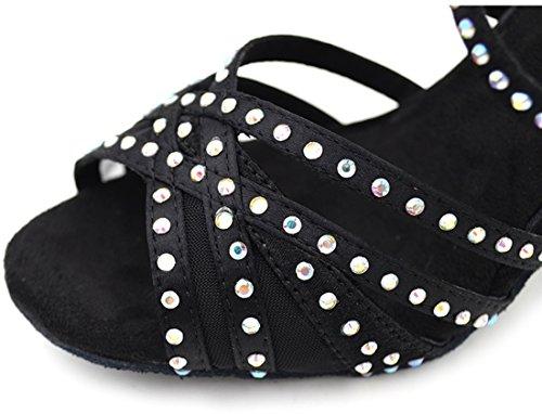 TDA - Peep-Toe donna 7.5cm Black