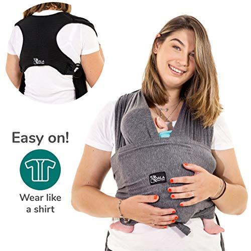 Koala Babycare® - Fular Portabebés fácil de usar fácil de colocar, unisex ajustable, la mochila...