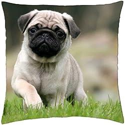 Funda de almohada de diseño de carlino