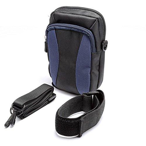 Encounter Outdoor Training Oberarmtasche Handytasche Sporttasche Sportarmband mit Reißverschluss 2 Fäche Dunkelblau