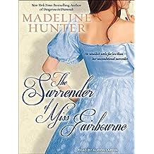 The Surrender of Miss Fairbourne (Fairbourne Quartet) by Madeline Hunter (2012-06-29)