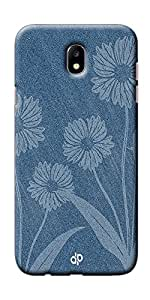 Digiprints Silicone Slimfit Lightweight Back Cover For Samsung Galaxy J7 Pro, Jeans Design Printed Designer Back Case Cover For Samsung Galaxy J7 Pro