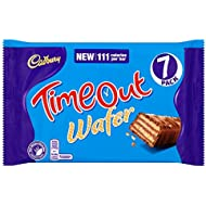 Cadbury Timeout Wafer Bars, 7 x 21.2g