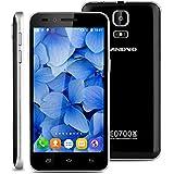 "Landvo V1 - 3G Smartphone Teléfono Móvil Libre (Pantalla 4.5"", Android 5.1, 4GB ROM, Quad-Core 1.3GHz, Dual SIM), Negro"