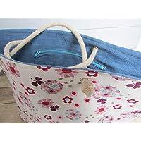 1061e4eea8 Sac à main fait main, Sac panier, sac marché, sac cabas, sac