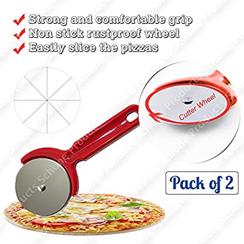 Antiruggine Wheel Pizza Cutter – Resistente e comoda impugnatura,