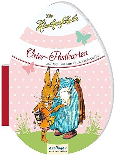 Preisvergleich Produktbild Die Häschenschule: Die Häschenschule - Oster-Postkarten