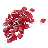 Fusible de lame - SODIAL(R) 60PCS 10A Auto Mini Fusible de lame Rouge pour voiture