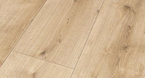 PARADOR Vinylboden Modular One - Eiche Pure hell 1730803 - Designboden Schlossdiele XXL Holzstruktur mit integrierter Kork-Trittschalldämmung und Klick-Verbindung - Paket a 3,102m²