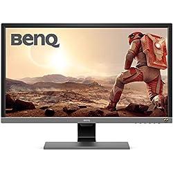 BenQ EL2870U Monitor di 28 4 K, HDR, UHD 3840 x 2160, TN, FREE-Sync, Tempo di Risposta 1 ms, Eye-Care, Anti-Glare