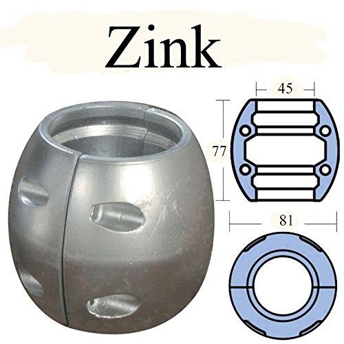Zinkanode für Ø 45 mm -