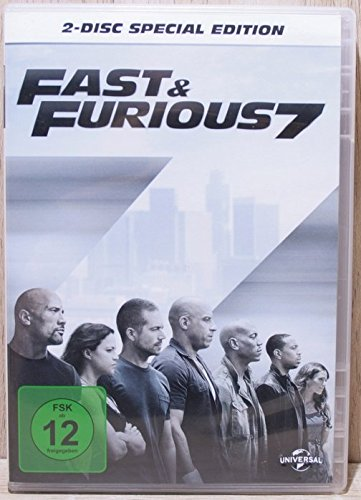 fast and the furious 7 dvd Fast & Furious 7 2-Disc Special Edition