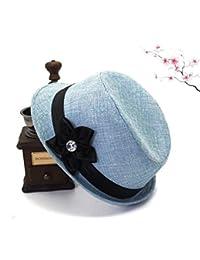 Amazon.it  Blu - Cappelli Fedora   Cappelli e cappellini  Abbigliamento 727483bb937d