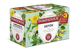 Pompadour Tisana Detox - 18 Filtri da 2 gr [36 gr]