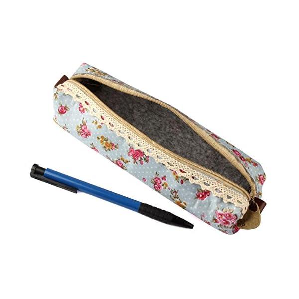 2016 FEITONG bolígrafo estuche bolsa bolso cosmético maquillaje, color #A 19cmx7.5cmx6cm