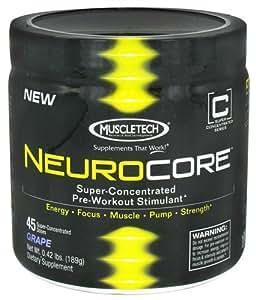 Muscletech Neurocore - 189 g (Grape)